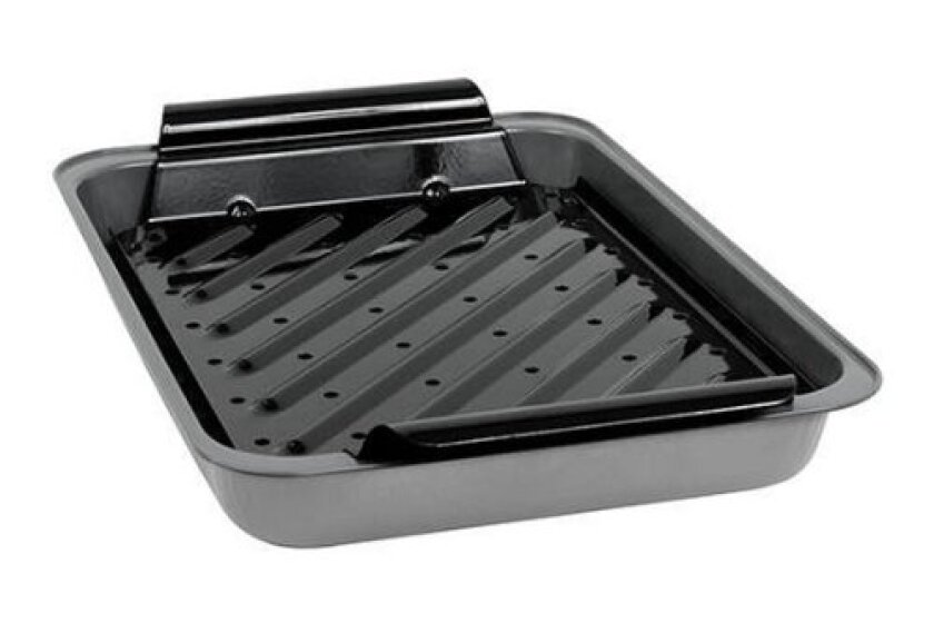 Baker's Secret Non-Stick Broiler with Grill Top