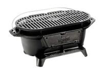 Lodge L410 Logic Pre-Seasoned Hibacchi Charcoal Grill