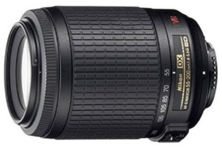 Nikon Normal-Telephoto 55-200mm f/4-5.6G ED AF-S DX Zoom-Nikkor Autofocus Lens