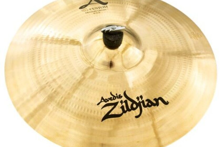 "Zildjian ""A"" Custom 18"" Medium Crash Cymbal"
