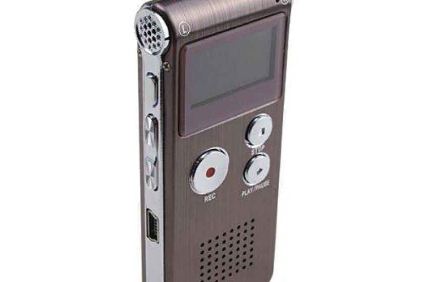 Etekcity 4GB Rechargeable Digital Audio Voice Recorder