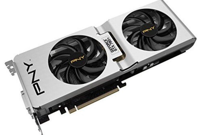 PNY GeForce GTX 780 Ti 3GB CC OC Graphics Cards VCGGTX780T3XPB-CC-OC
