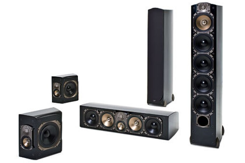 Paradigm Signature Collection Home Theater Speakers