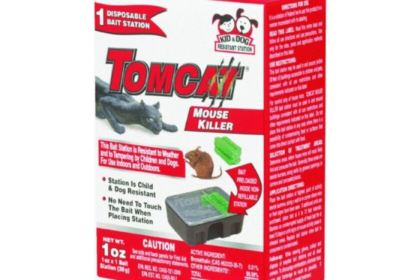 Tomcat Mouse Killer Mouse Disposable - Kid & Dog Resistant