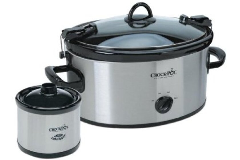 Crock Pot SCCPVL603-S Cook & Carry Slow Cooker with Little Dipper
