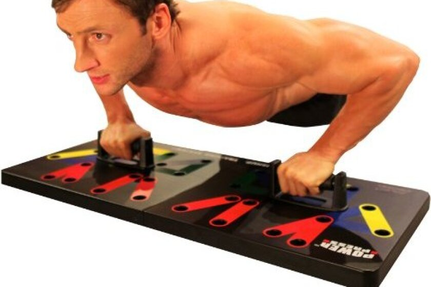 Maximum Fitness Gear Power Press Push Up -Complete Push Up Training System