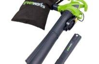GreenWorks 24072 12 Amp Variable Speed Corded Blower/Vacuum