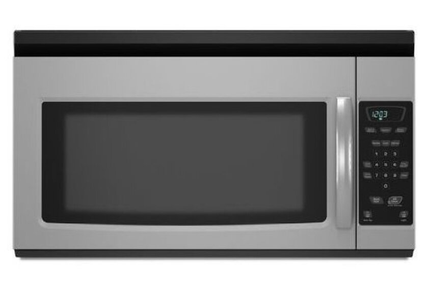 Amana AMV1150VAS, 1000-Watt Stainless Steel Over the Range Microwave