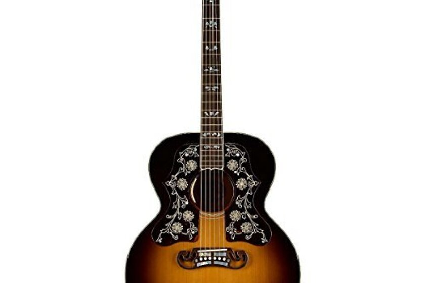 Gibson Montana SJBDVSGH1 Dylan Players Edition Acoustic-Electric Guitar