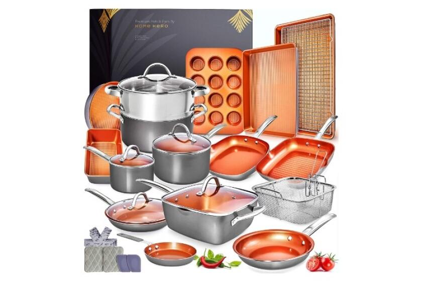 best copper cookware set