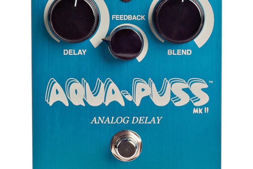 Dunlop Way Huge WHE-701 Aqua-Puss MkII Delay Effects Pedal