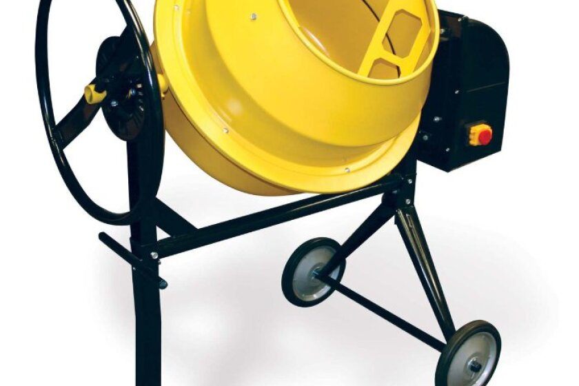 Buffalo Tools CME35 3.5 Cu. Ft. Electric Cement Mixer
