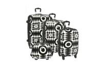 best International Traveller Shiny Optical 4-Piece Luggage Set