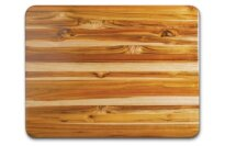 Proteak Edge Grain Rectangle Carving Board with Hand Grip