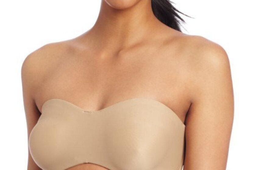 Lilyette Women's Tailored Strapless Minimzer Bra