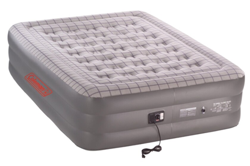 Coleman Queen Double High Air Bed Air Mattress with Electric Pump