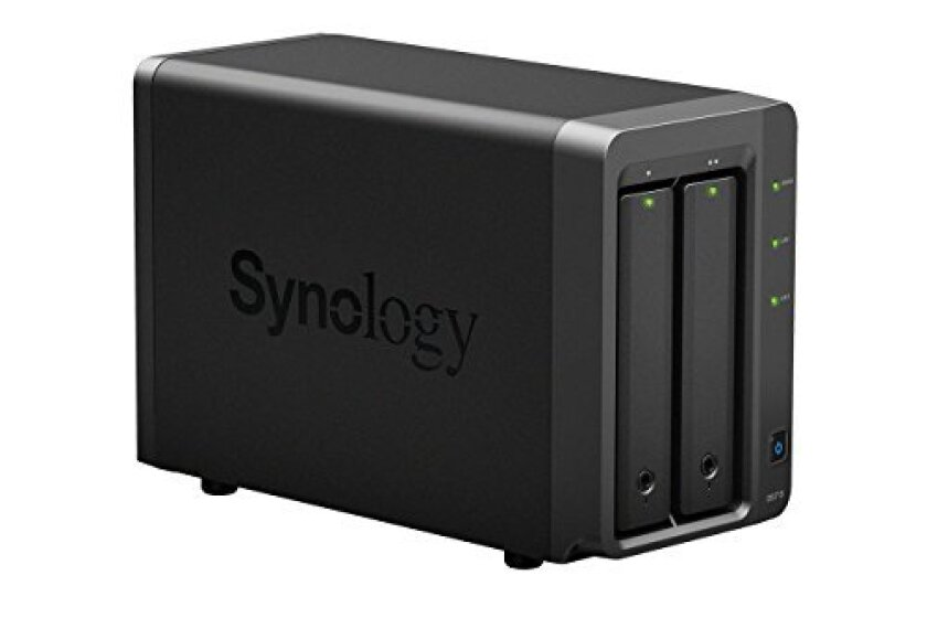 Synology Disk Station 2-Bay Network Attached Storage - DS715