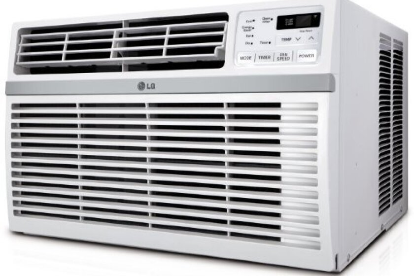 LG Electronics Energy Star 115-volt Window-Mounted Air Conditioner - LW8014ER