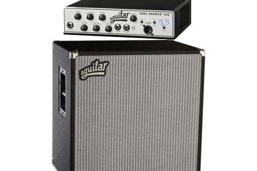 Aguilar Tone Hammer 500 Amp Head & DB212 Speaker Cabinet