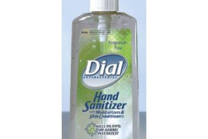 Dial Antibacterial Hand Sanitizer