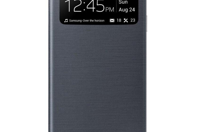 Samsung Galaxy S4 S-View Flip Cover Folio Case