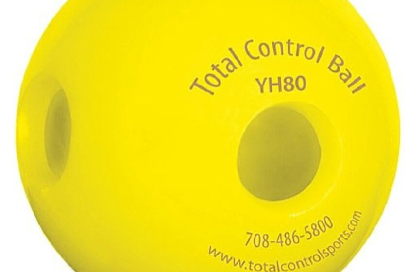 Total Control Sports Hole Practice Batting Ball