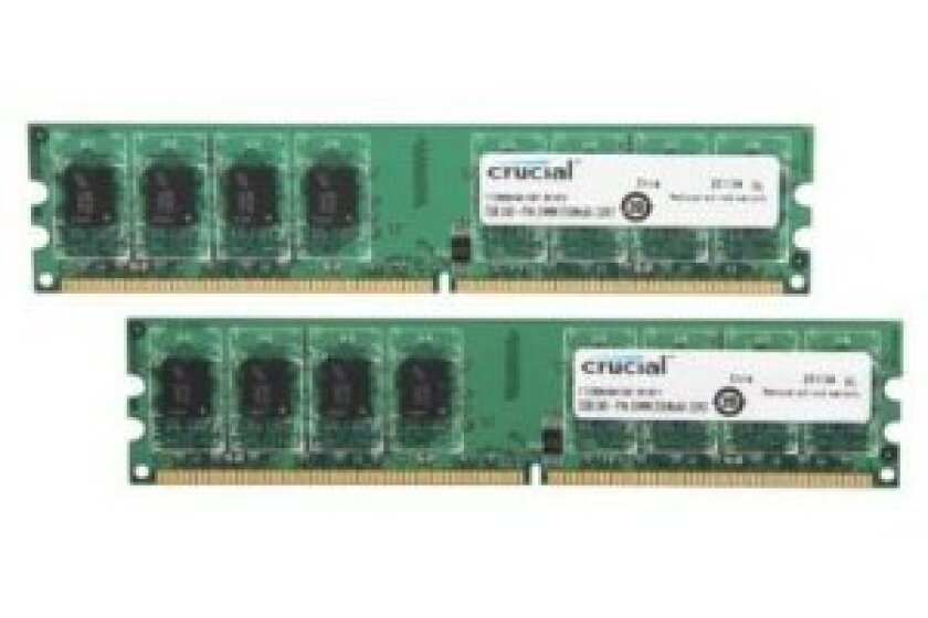 Crucial 4GB 1066MHZ DDR2 Memory CT2KIT25664AA1067