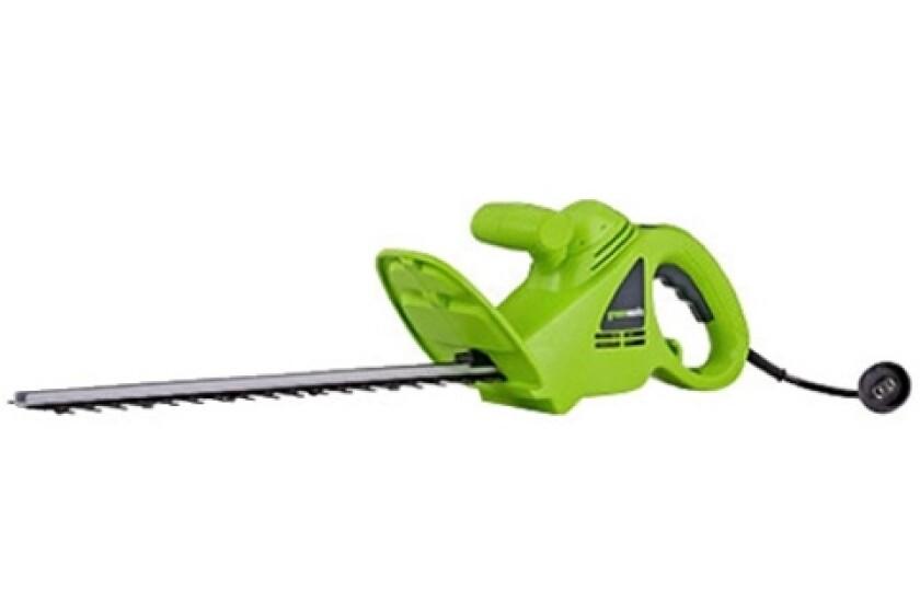 "GreenWorks 2.7 Amp 18"" Corded Electric Hedger"
