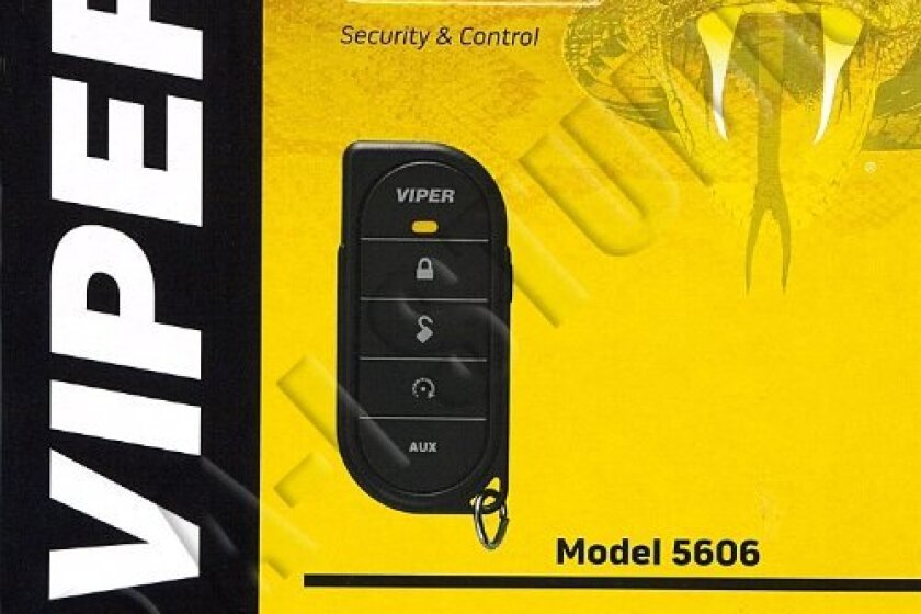 Viper 5606V 1-way Security System w/Remote